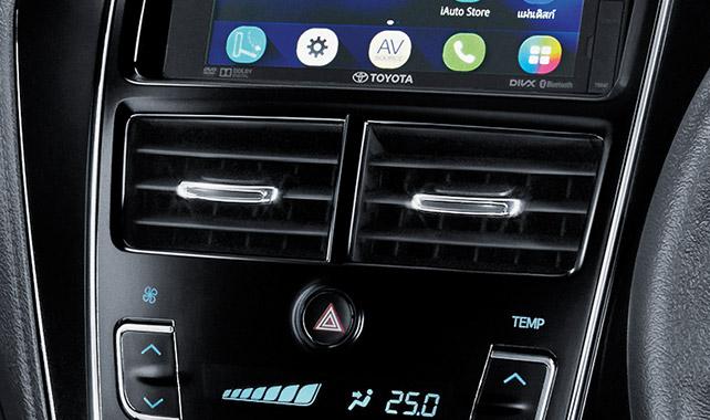 ระบบปรับอากาศอัตโนมัติพร้อมจอ LCD