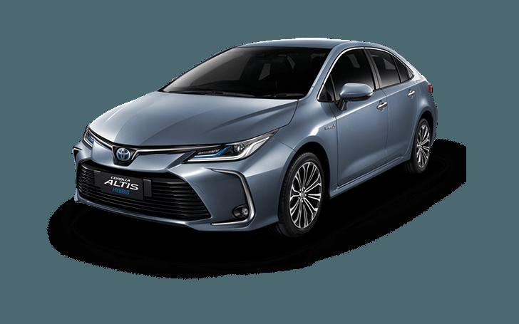 โคโลล่า อัลตีส ใหม่ All-New Corolla Altis Celestite Gray