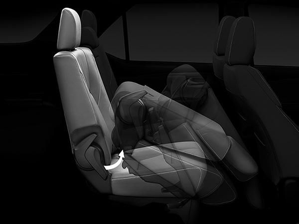 8-Way Power Seats เบาะนั่งคนขับและเบาะผู้โดยสารตอนหน้าปรับไฟฟ้า 8 ทิศทางเพื่อความสะดวกสบาย