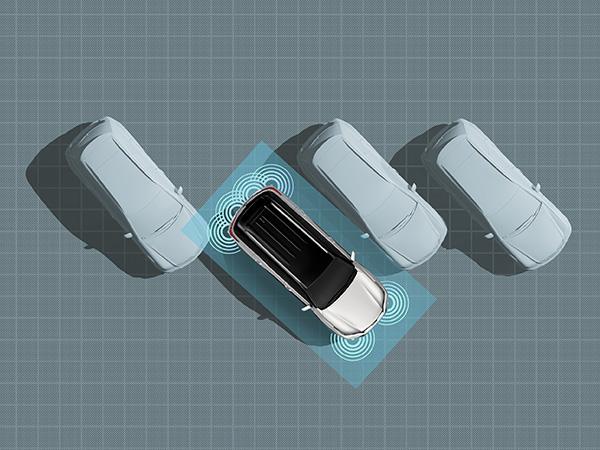 Park Sensor สัญญาณเตือนกะระยะ 6 ตำแหน่ง ช่วยระวังมุมอับสายตาเวลาจอดรถ