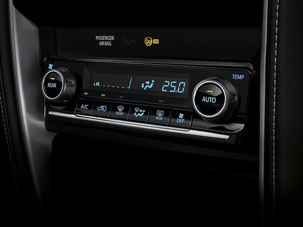 Auto A/C System ระบบปรับอากาศอัตโนมัติมอบความเย็นทั่วพื้นที่ห้องโดยสาร