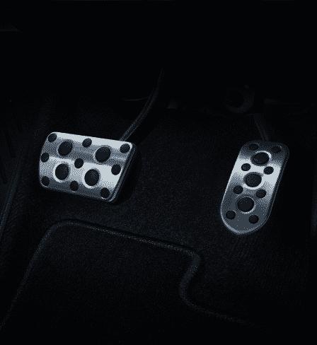 Aluminium Pedal คันเร่งและเบรกอะลูมิเนียมแบบสปอร์ต